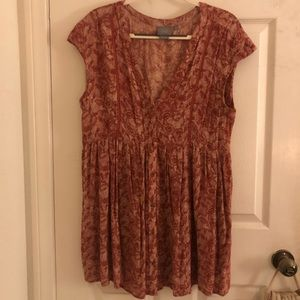Anthropology Light & Flowy Dress